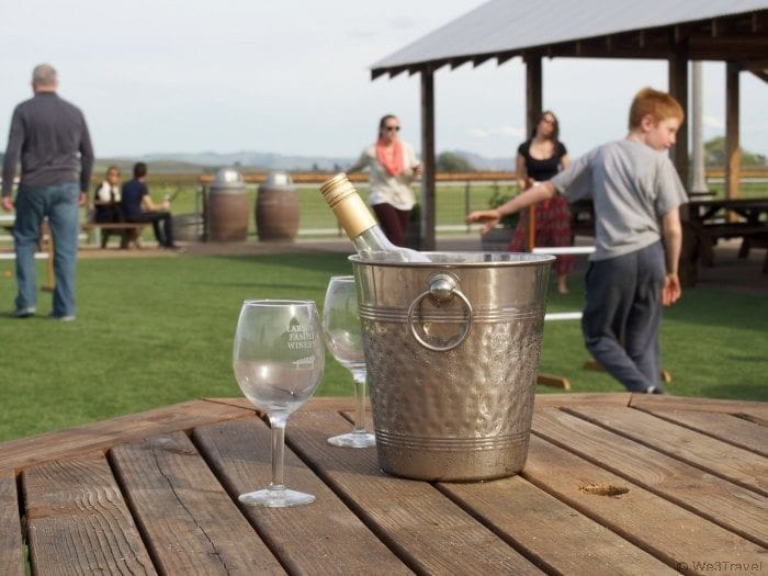 Sonoma with kids -- family friendly wineries