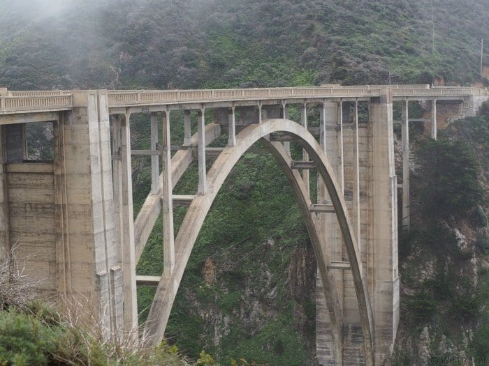 Tips for driving Highway One on the California Coast Bixby Bridge