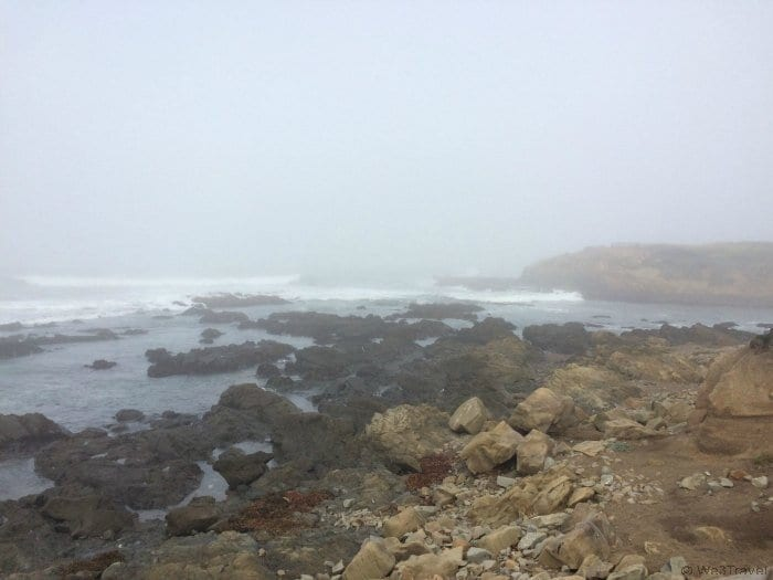 Tips for driving the CA coast: Moonstone Beach in Cambria