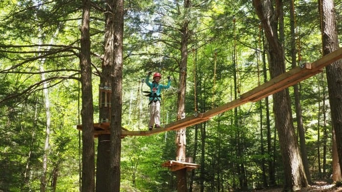 Kid's Turn: A Crazy Awesome Day at Ramblewild in the Berkshires, MA