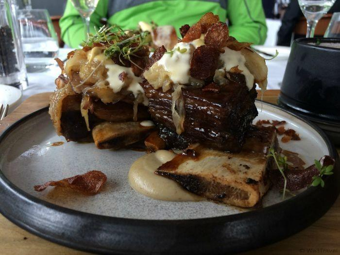 Beef ribs at Lava -- the best part about my visit to the Blue Lagoon in Iceland