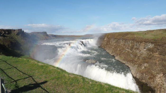 5 Days in Iceland -- a sample itinerary includes a visit to Gulfoss in the Golden Circle