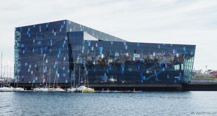 5 Days in Iceland -- if you visit Reykjavik you should definitely go inside the Harpa Concert Hall to see the light refracting through the glass walls