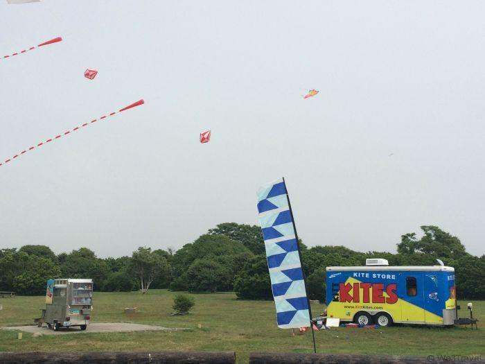 Fly kites at Brenton Point in Newport