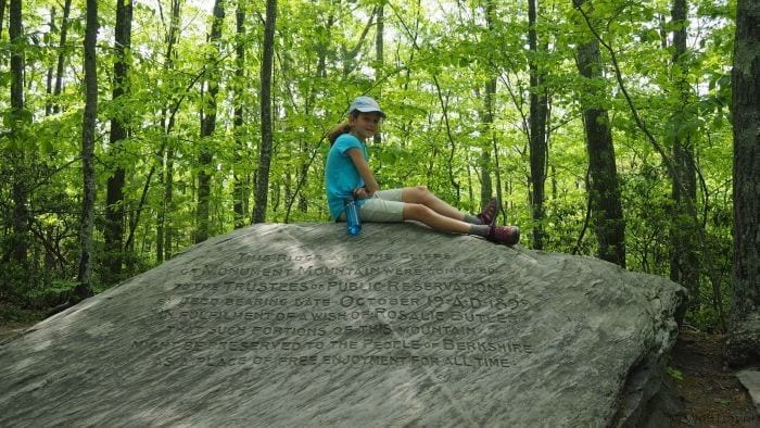 Weekend in the Berkshires with Kids: Hiking up Monument Mountain