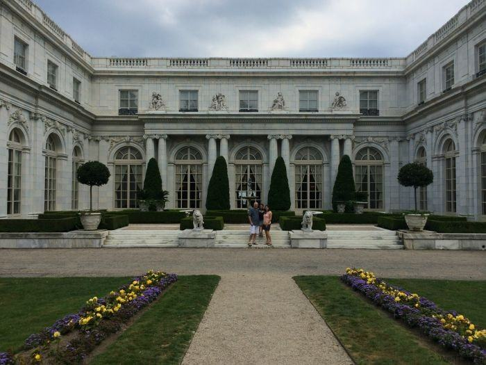 Rosecliff mansion in Newport