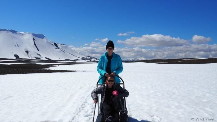 Dog sledding in Iceland is a bucket list family travel experience