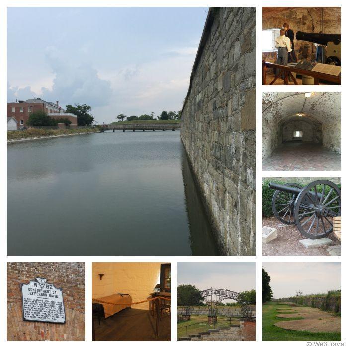 Fort Monroe in Hampton VA
