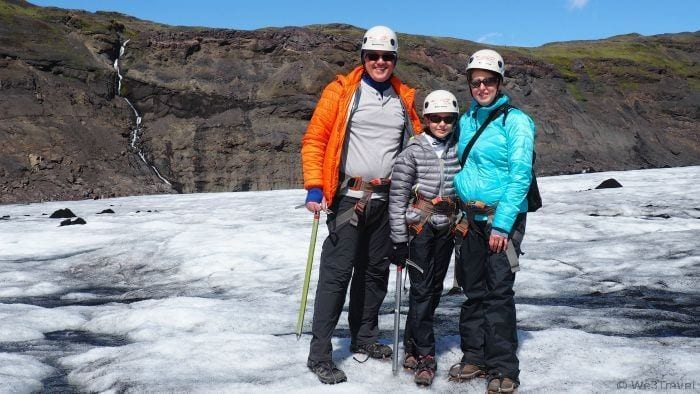 Glacier hiking in Iceland with Arcanum Glacier Tours