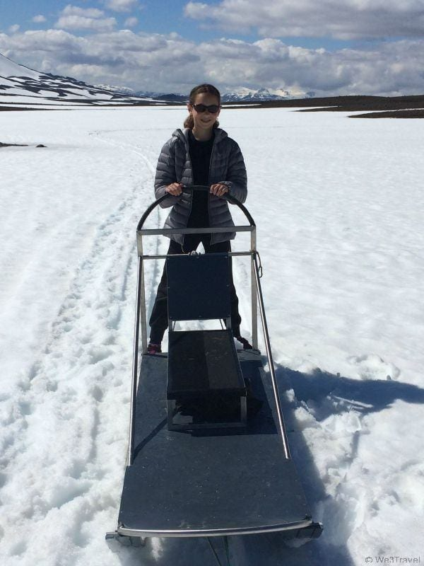 When to do Iceland with Kids: Dog sledding