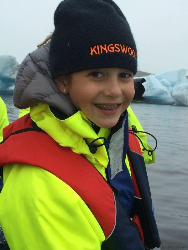 Glacier lagoon in Iceland: When to do Iceland with Kids