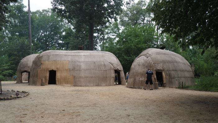 Jamestown Settlement -- What to do on a road trip through Virginia with Kids