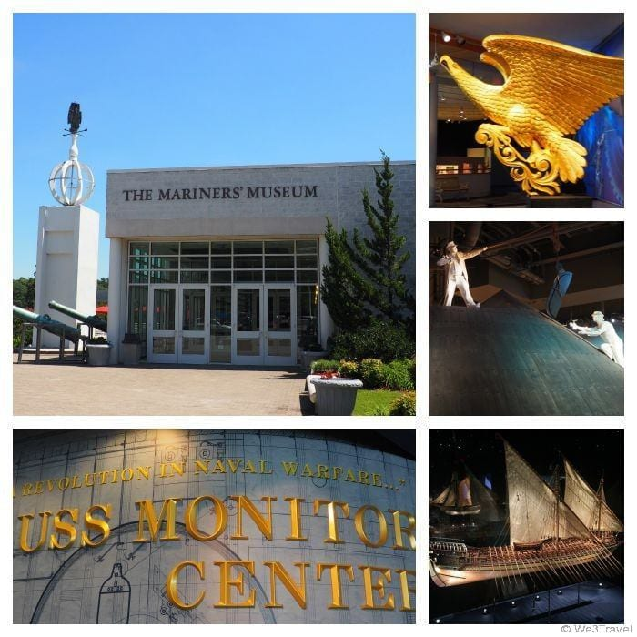 The U.S.S. Monitors Center at the Mariners' museum in Newport News, VA