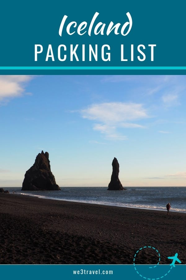 Iceland packing list - what to wear in Iceland in the summer and what to pack for a trip to Iceland in the summer. #iceland #packinglist #travel #traveltips #icelandtravel