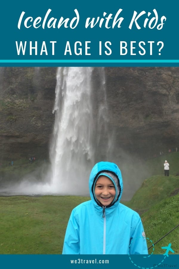 An age-by-age of when to visit Iceland with kids. Find out what activities are available for kids at different ages when planning an Iceland trip. #iceland #familytravel #icelandwithkids