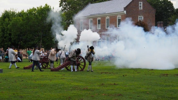 Colonial Williamsburg in a day (or less) -- reenactments on the village green