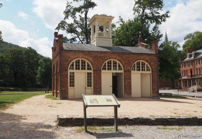 John Brown's Fort in Harpers Ferry West Virginia