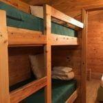 KOA Deluxe cabin Bunkbeds