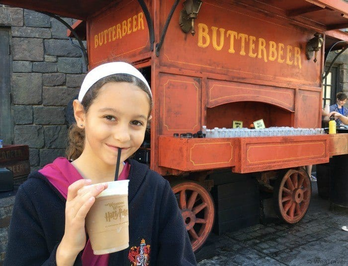 Butterbeer in Harry Potter's Wizarding World at Universal Orlando