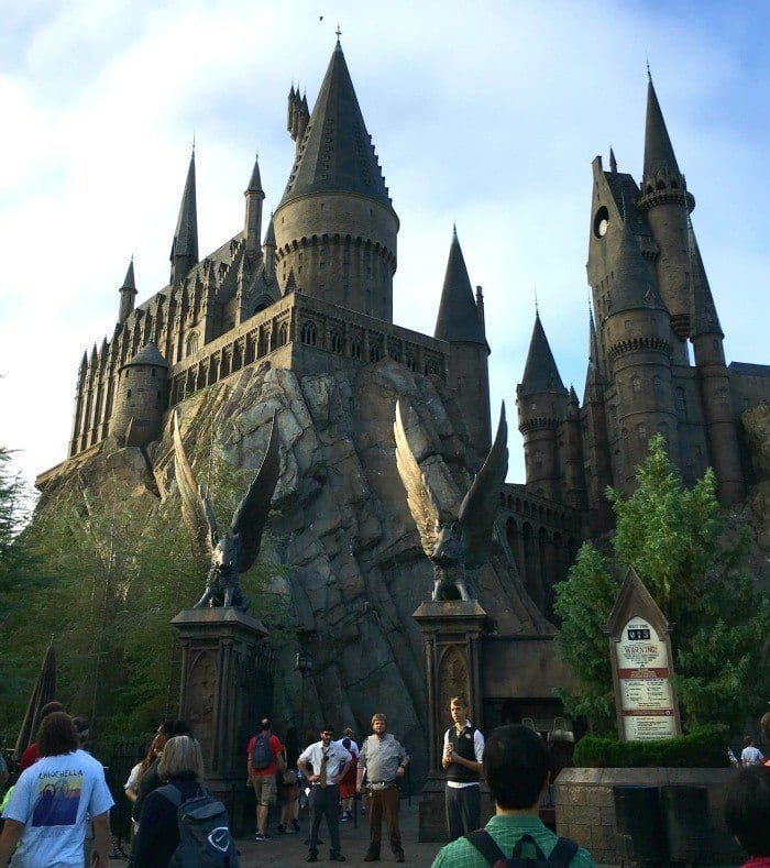 How to visit Harry Potter World -- Entrance to Hogwarts and Harry Potter and the Forbidden Journey