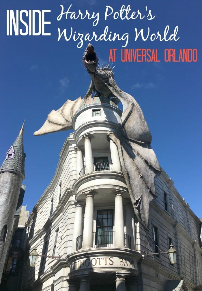 Inside Harry Potter's Wizarding World at Universal Orlando