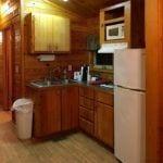 Kitchen in KOA cabin