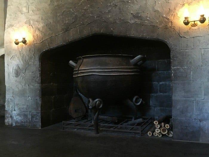 Leaky Cauldron tavern in Diagon Alley in Universal Studios