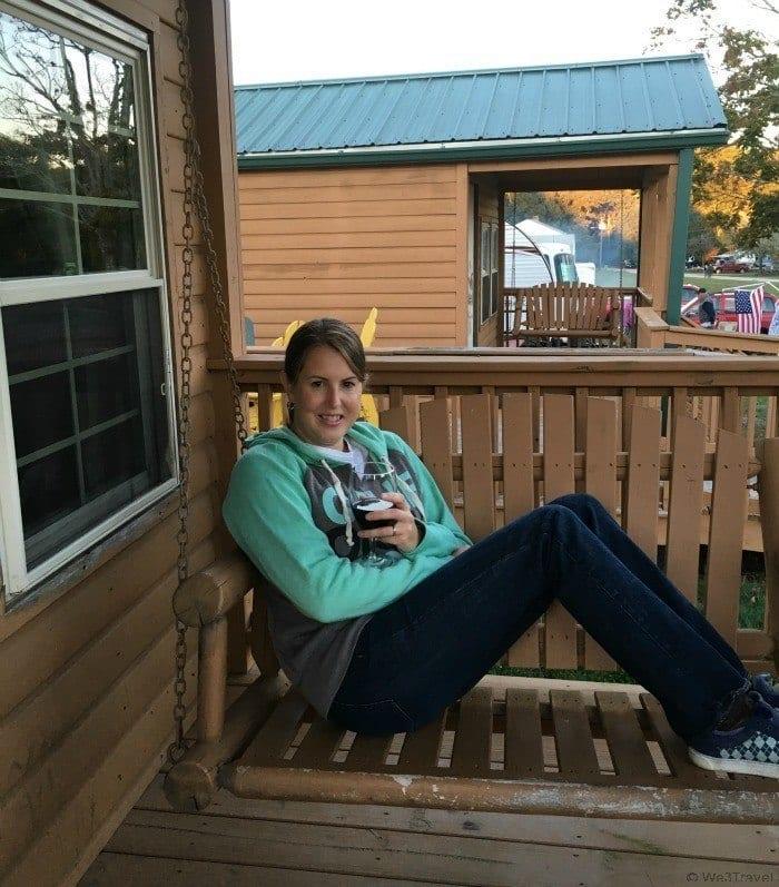 KOA Porch swing