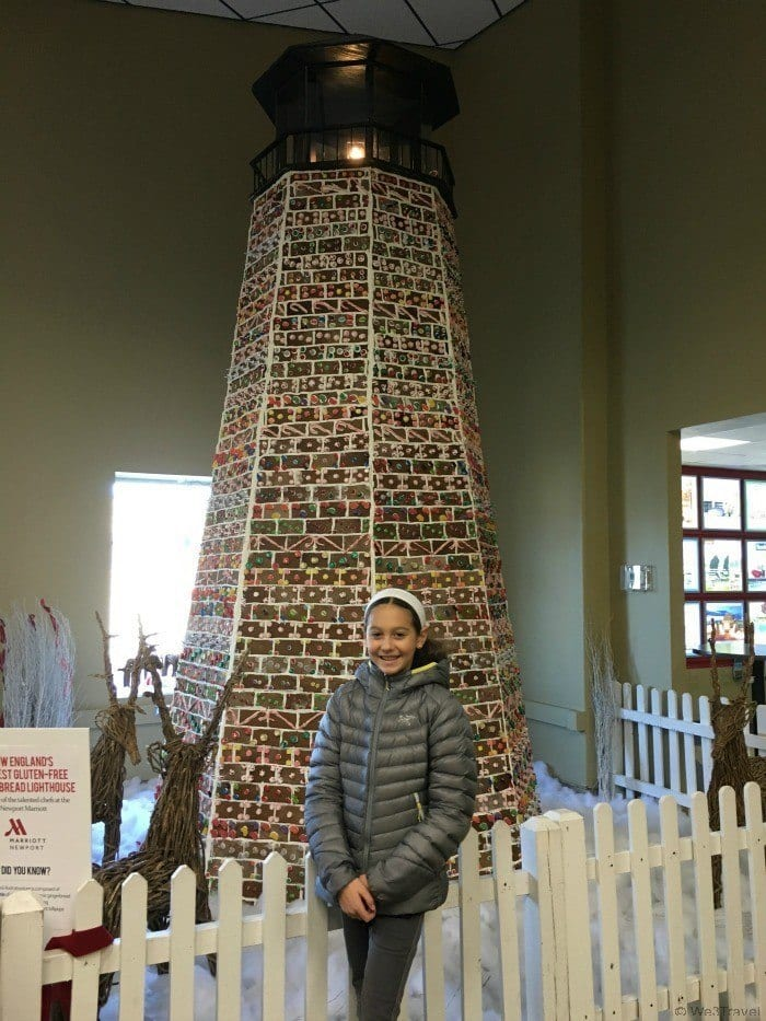 Newport gingerbread lighthouse