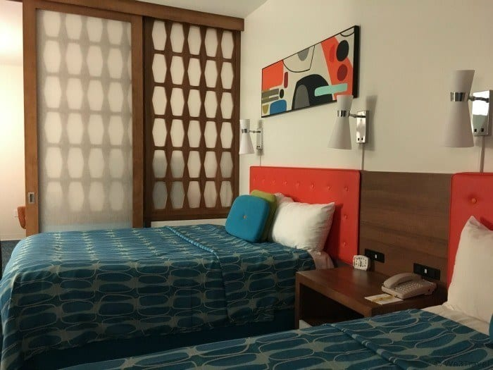 Cabana Bay review -- family suite bedroom