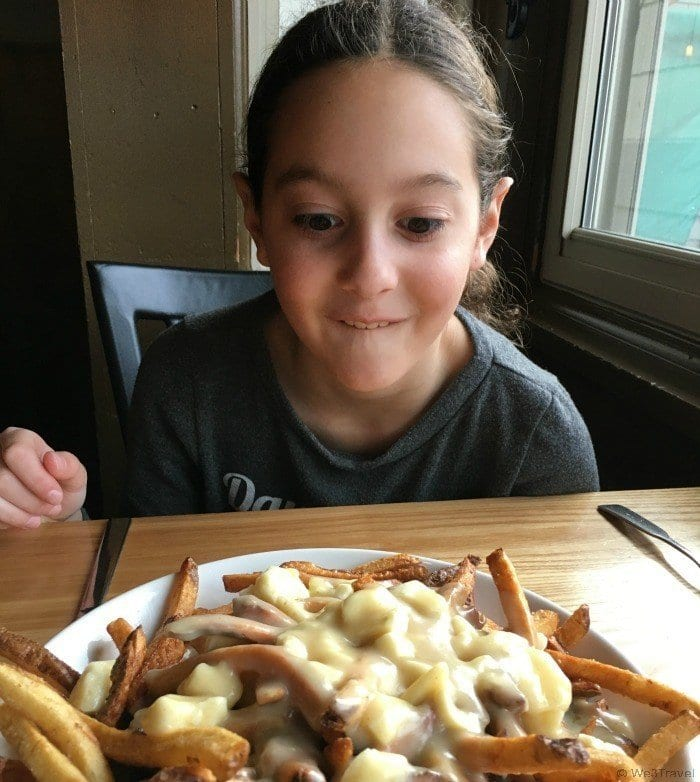 Poutine at The Bench in Stowe Vermont