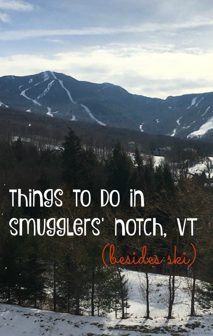 Things to do in Smugglers' Notch Vermont (besides ski) -- Smugglers' Notch is the #1 kid-friendly ski resort in the East offering so many family-friendly activities including snowshoeing, snowmobiling, ski school, indoor pools, ice skating, an indoor play area, babysitting, daycare, a teen center, family programming and more.