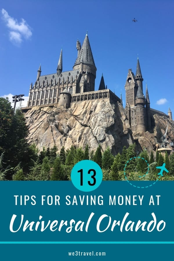 This gives a detailed breakdown of a Universal Orlando budget and tips for saving money on a Universal Orlando vacation. #universalorlando #universal #themeparks #budgettravel
