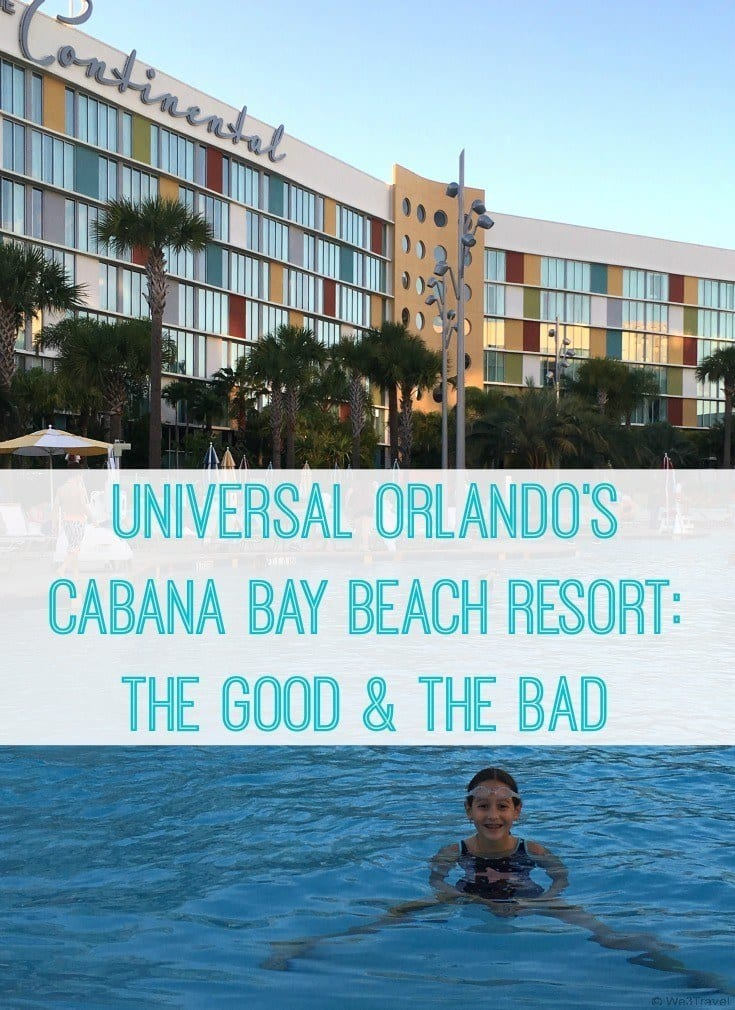 Universal Orlando's Cabana Bay Beach Resort Review -- The Good and the Bad for Families