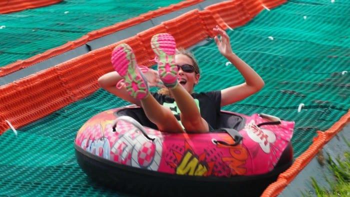 Tubing at Bryce Resort