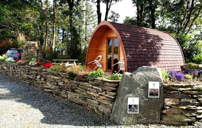 Celtic Pod Camping in Ireland