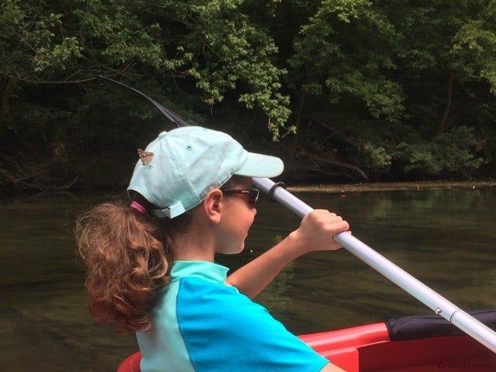Kayaking on the Shenandoah River