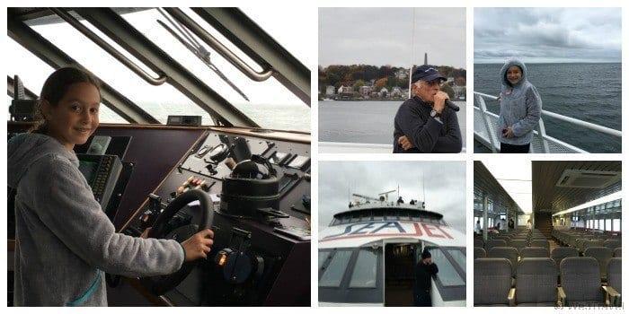 Cross Sound Ferry Lighthouse tour