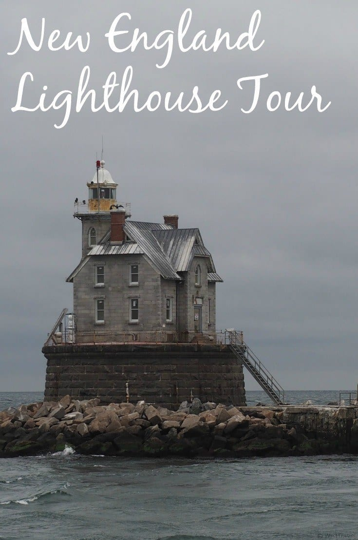 New England Lighthouses tour with Cross Sound Ferry -- you will see nine lighthouses and other scenic sites on this boat tour out of New London, CT