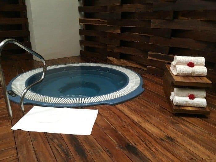 Grand Velas Riviera Maya Spa cold plunge pool