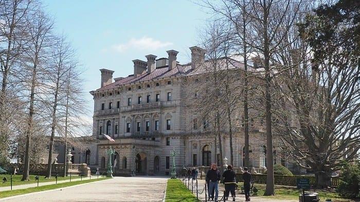 Breakers Mansion in Newport RI