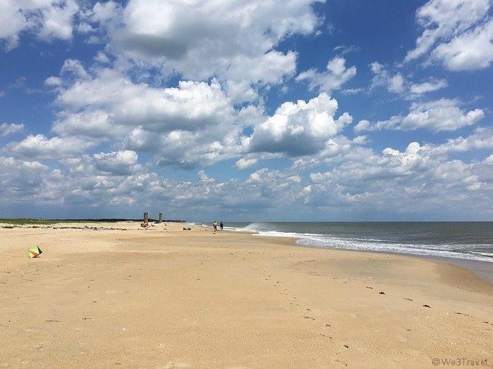 Cape Henlopen beach Delaware