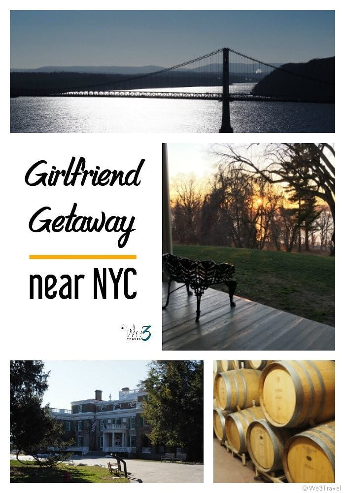 Tips for planning a girls weekend getaway near NYC -- Beacon New York offers museums, historic sites, wine, great food and more