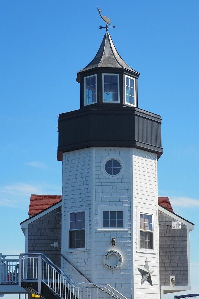 Saybrook Point lighthouse suite
