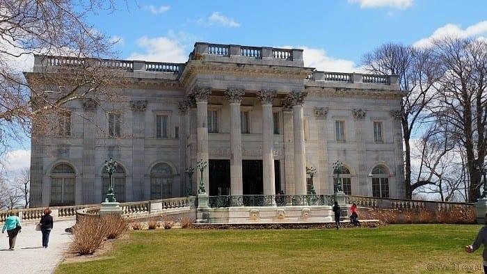 Marble House in Newport Rhode Island