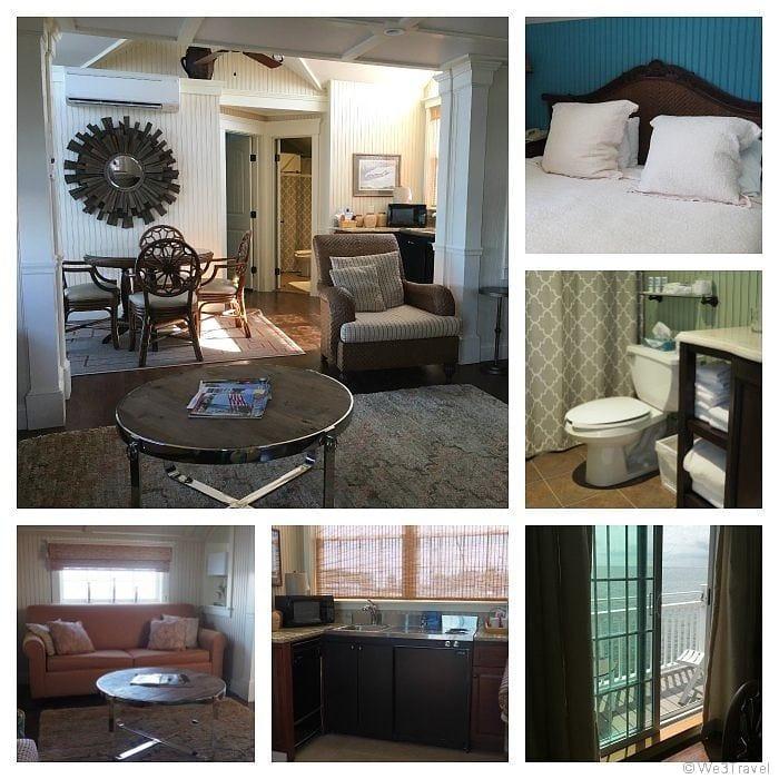 Saybrook Inn Lighthouse suite interior