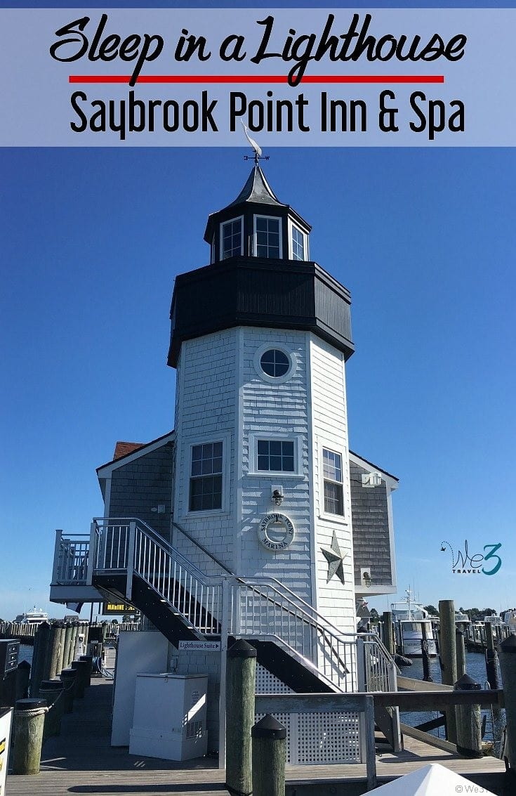 Have you ever wanted to sleep in a lighthouse hotel? Now you can at the Saybrook Point Inn and Spa in Old Saybrook Connecticut
