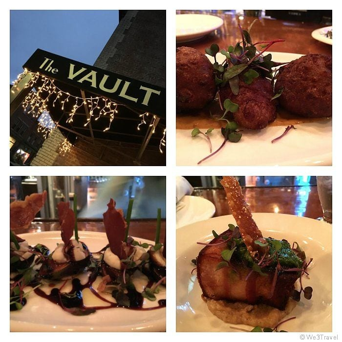The Vault tapas restaurant in Beacon NY