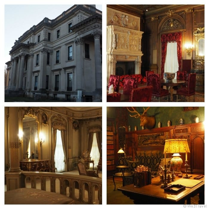 Vanderbilt Mansion in Hyde Park New York