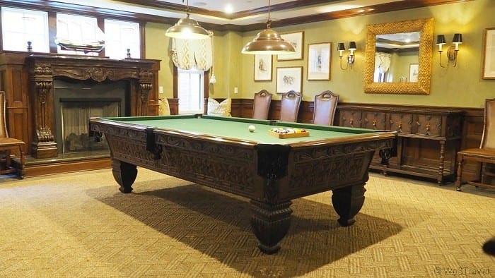 Tall tales pool table